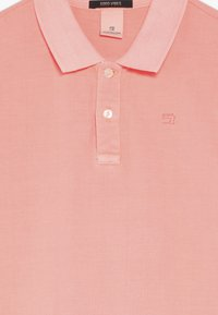 Scotch & Soda - GARMENT DYED - Polo shirt - neon coral - 4
