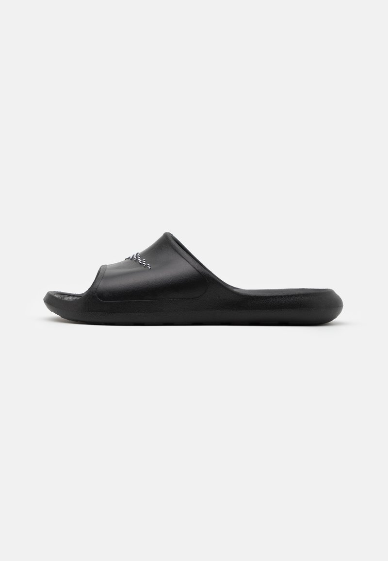 Nike Sportswear - VICTORI ONE SHOWER SLIDE - Matalakantaiset pistokkaat - black/white