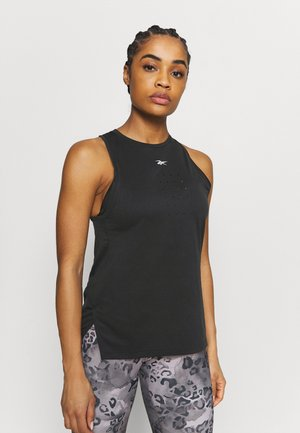 PERFORATED TANK - Top - black