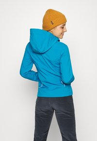 CMP - WOMAN JACKET ZIP HOOD - Soft shell jacket - zaffiro/danubio - 2