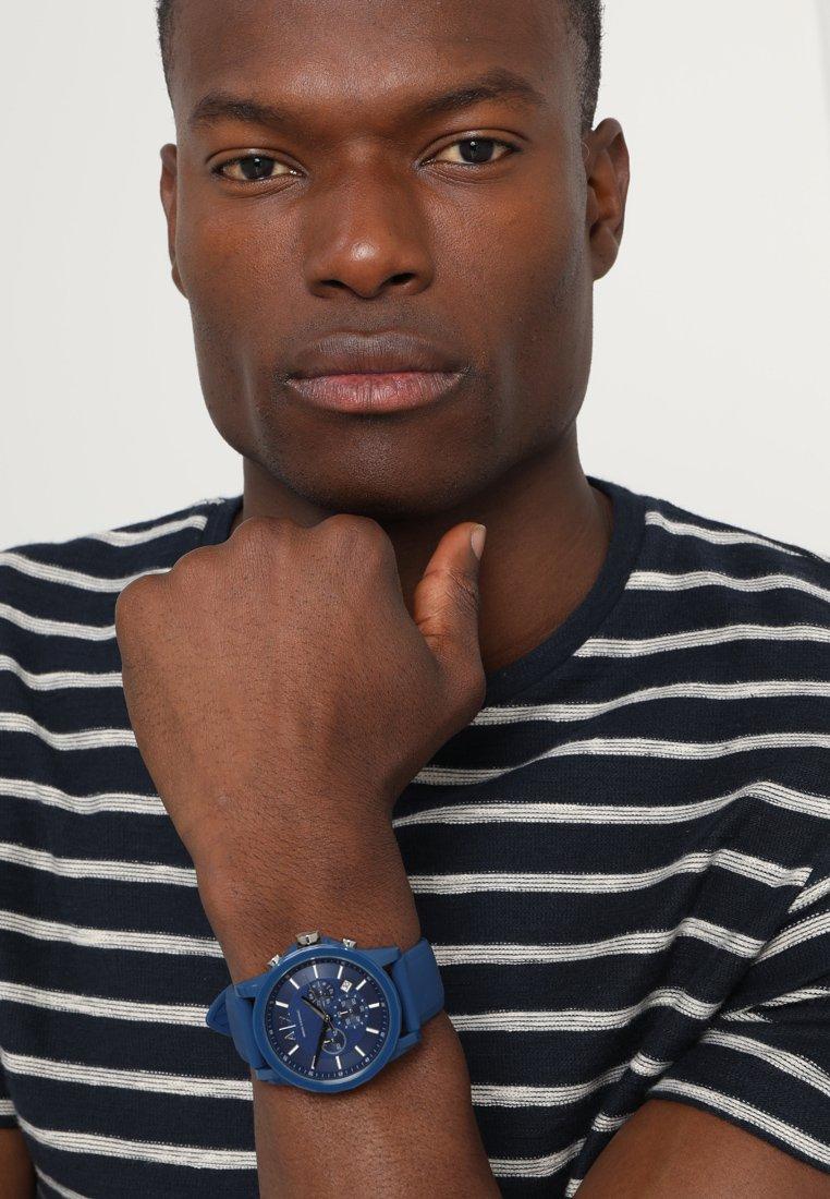 Armani Exchange - Chronograph watch - blau