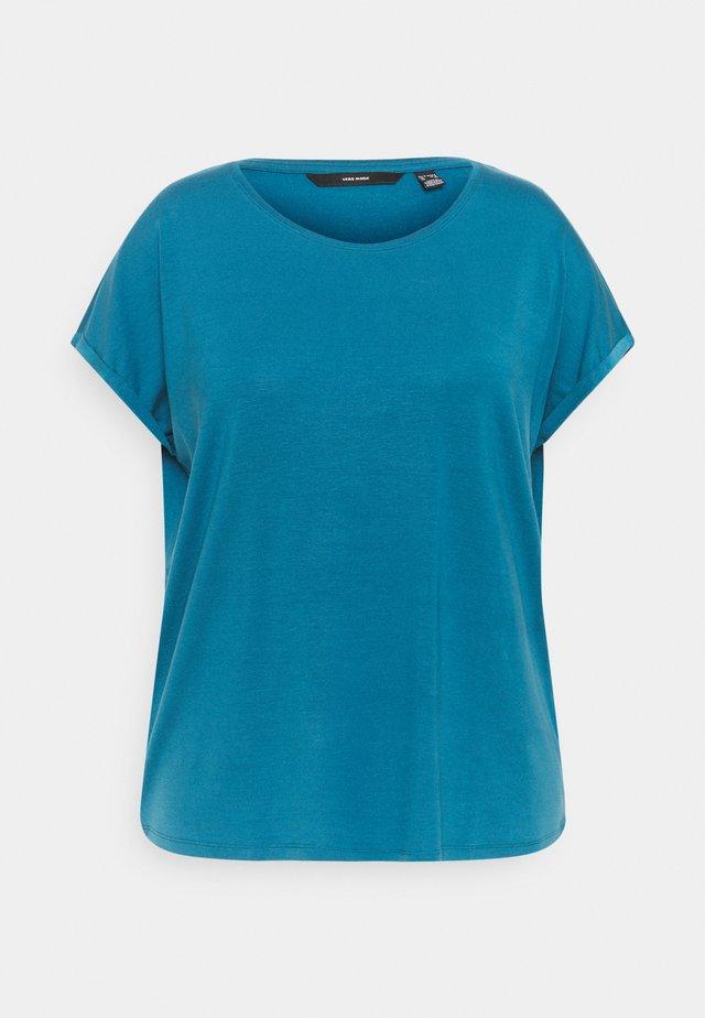 VMAVA PLAIN - T-shirts - moroccan blue