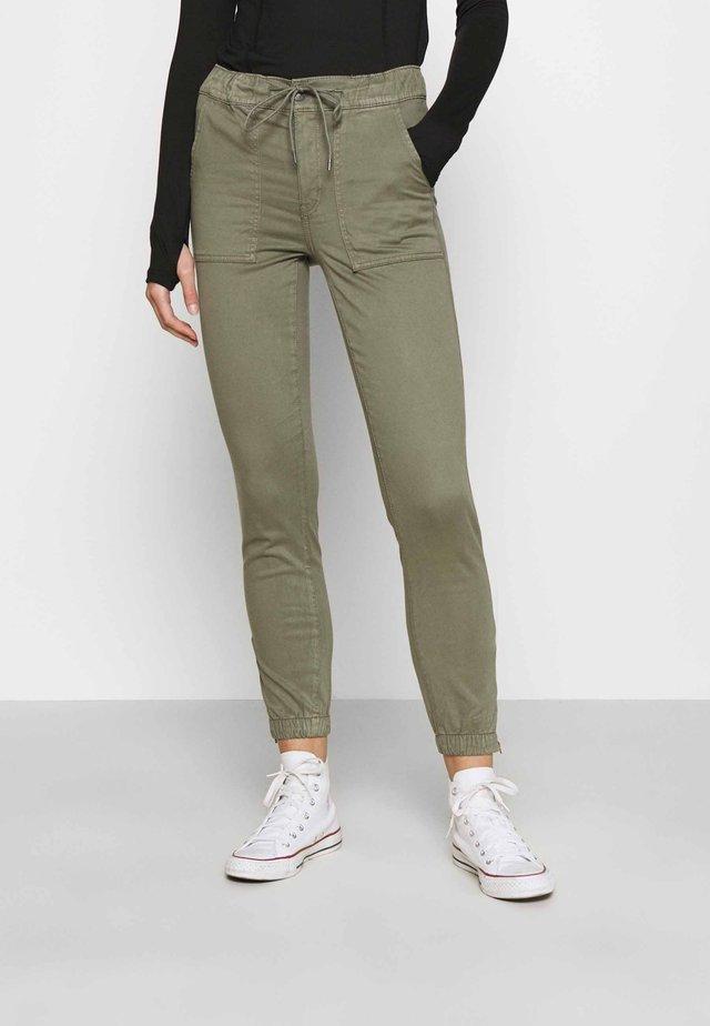 HIGH RISE  - Pantalon classique - olive