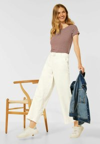 Cecil - LOOSE FIT  - Trousers - beige - 2
