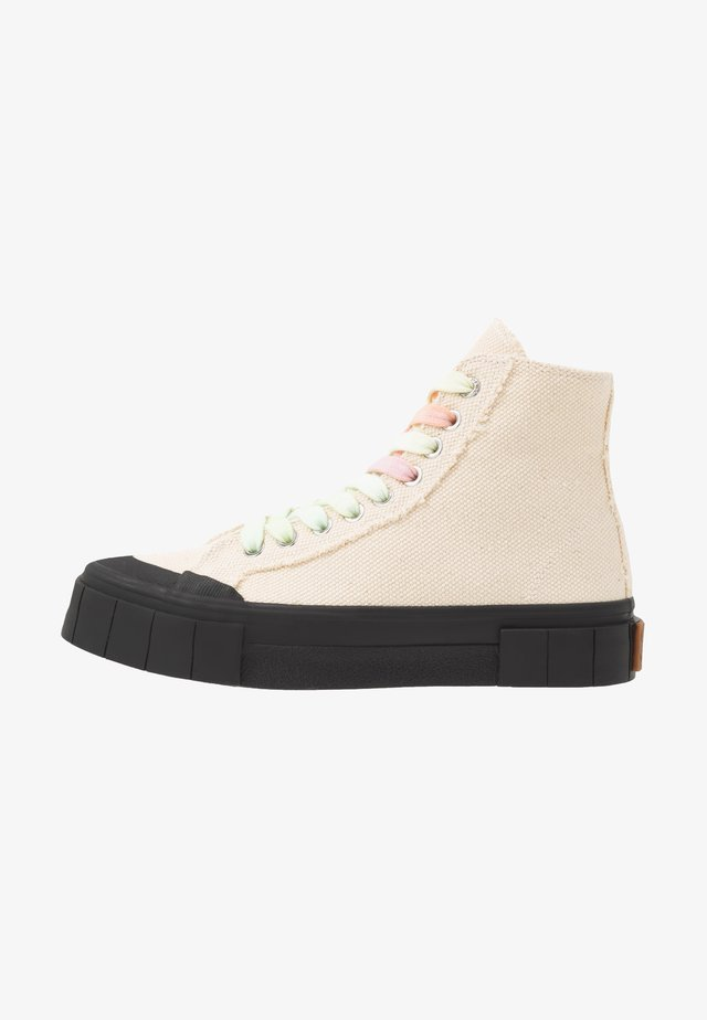 JUICE - High-top trainers - beige