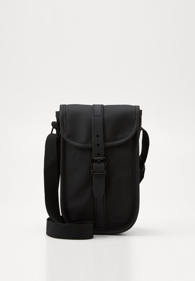 MANHATTAN SHOULDER BAG - Skuldertasker - black
