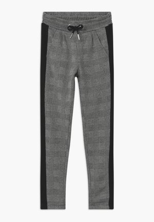 GIRLS KARO - Trousers - grau