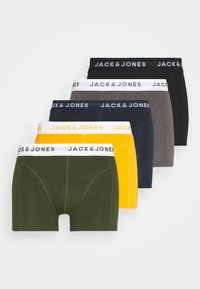 Jack & Jones - JACKRIS TRUNKS 5 PACK - Briefs - black