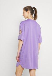 FUBU - VARSITY BASEBALL DRESS - Jersey dress - purple - 2