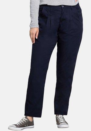 Trousers - marine