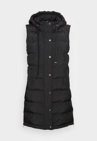 Opus - WAFA CASUAL - Waistcoat - black - 3