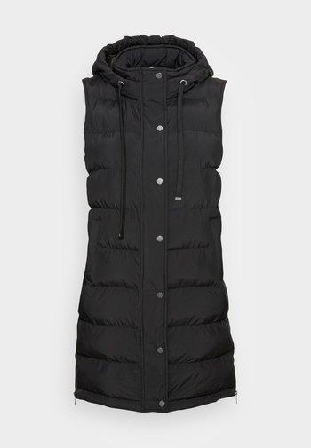 WAFA CASUAL - Waistcoat - black