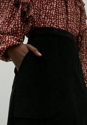 ROCK ARLETTE - Mini skirt - schwarz