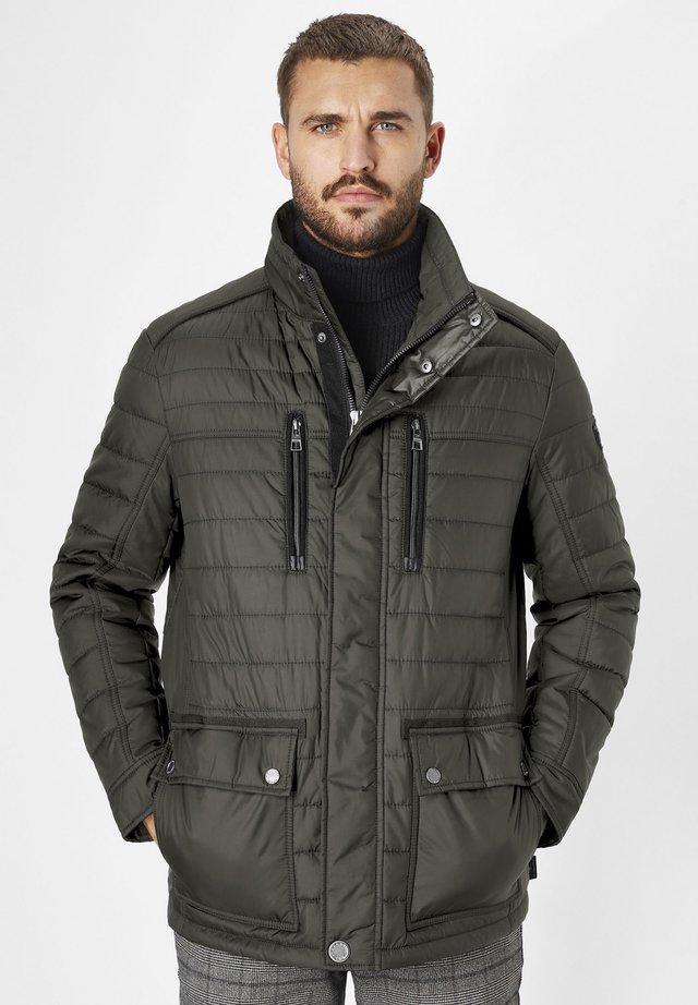 Winter jacket - dk. olive
