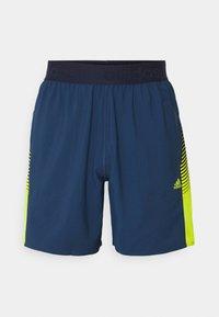 adidas Performance - Sports shorts - dark blue - 3
