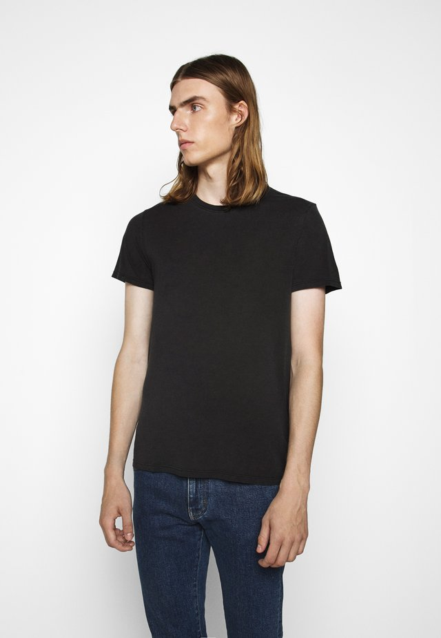 TRAVIS - T-shirt basique - used black