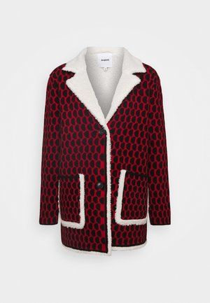 JERS DENVER - Short coat - rojo
