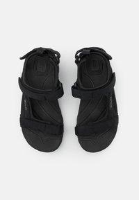 Teva - TANZA UNISEX - Chodecké sandály - black - 3