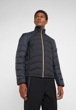 SARITO - Down jacket - black/gold