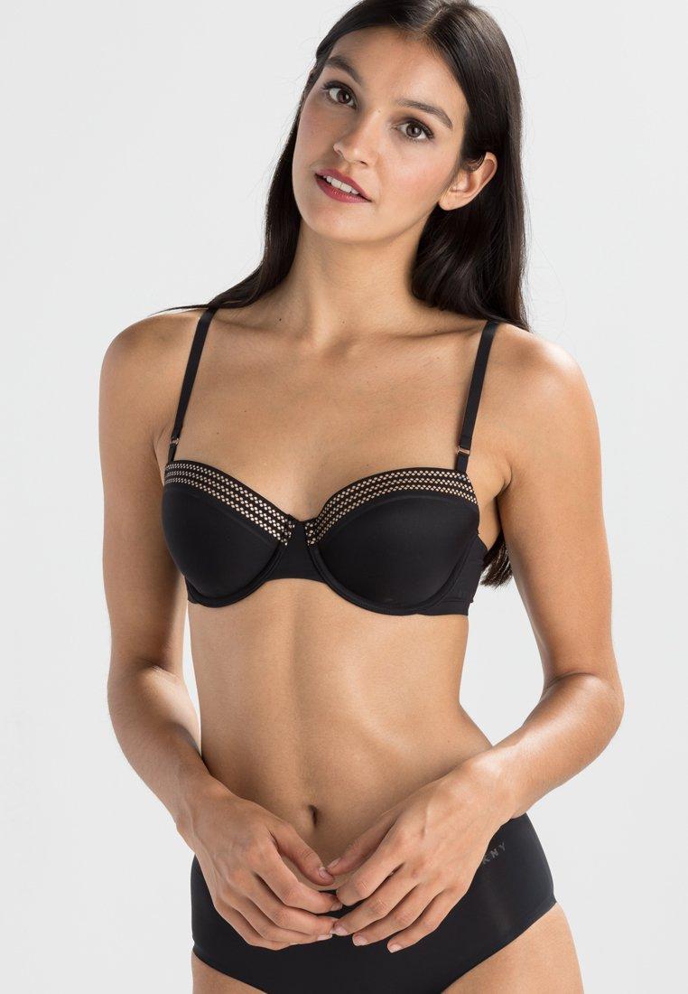 DKNY Intimates - SKYLINE - Balconette bra - black/glow