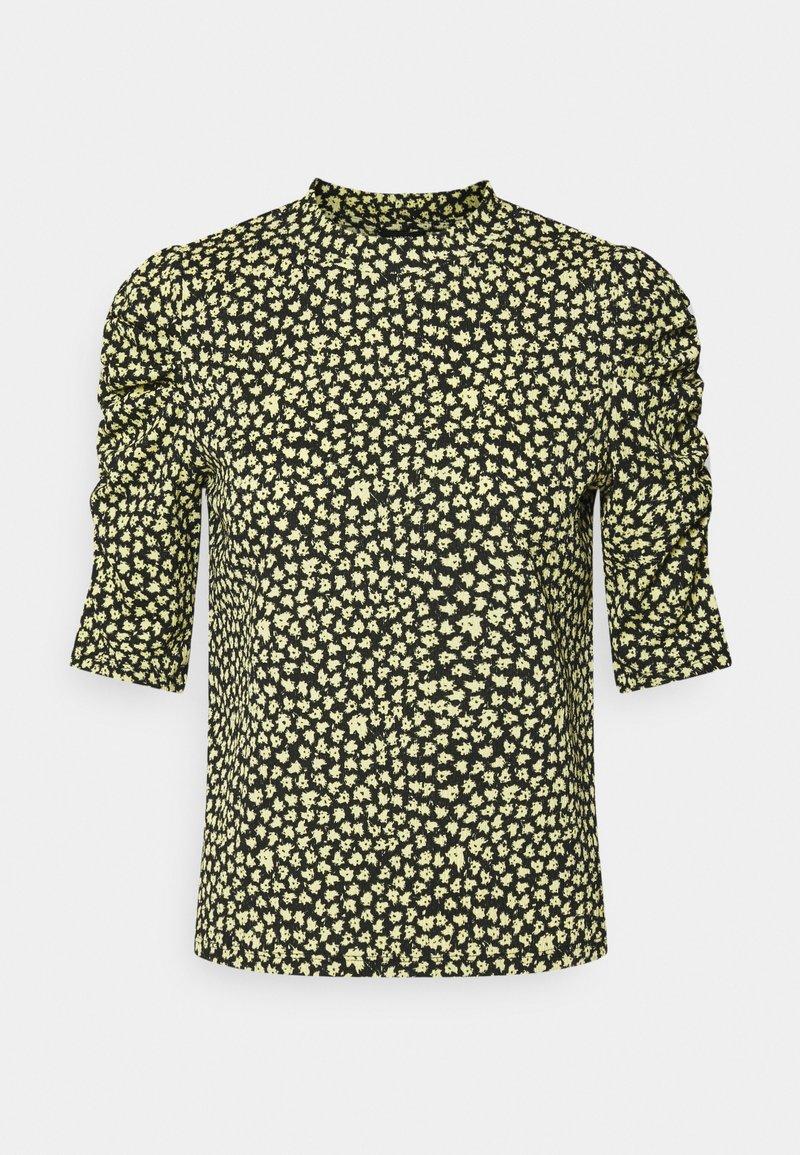 Lindex - LOREEN - Print T-shirt - light yellow