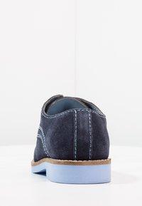 Friboo - LEATHER - Šněrovací boty - dark blue - 3