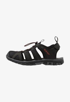COVE BREEZE - Walking sandals - black/picante
