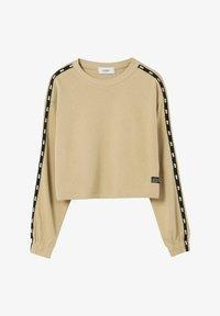 PULL&BEAR - Sweatshirt - beige - 4