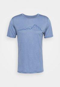 Houdini - TREE MESSAGE TEE - T-shirt print - blue - 4