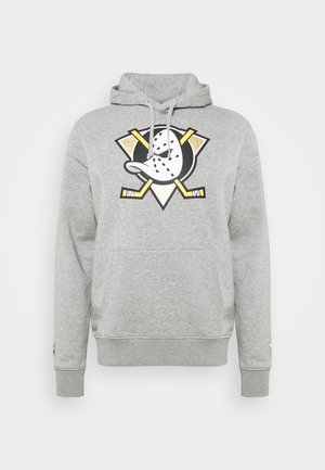 NHL ANAHEIM DUCKS MID ESSENTIALSSECONDARY COLOUR LOGO GRAPHIC  - Sweatshirt - sports grey
