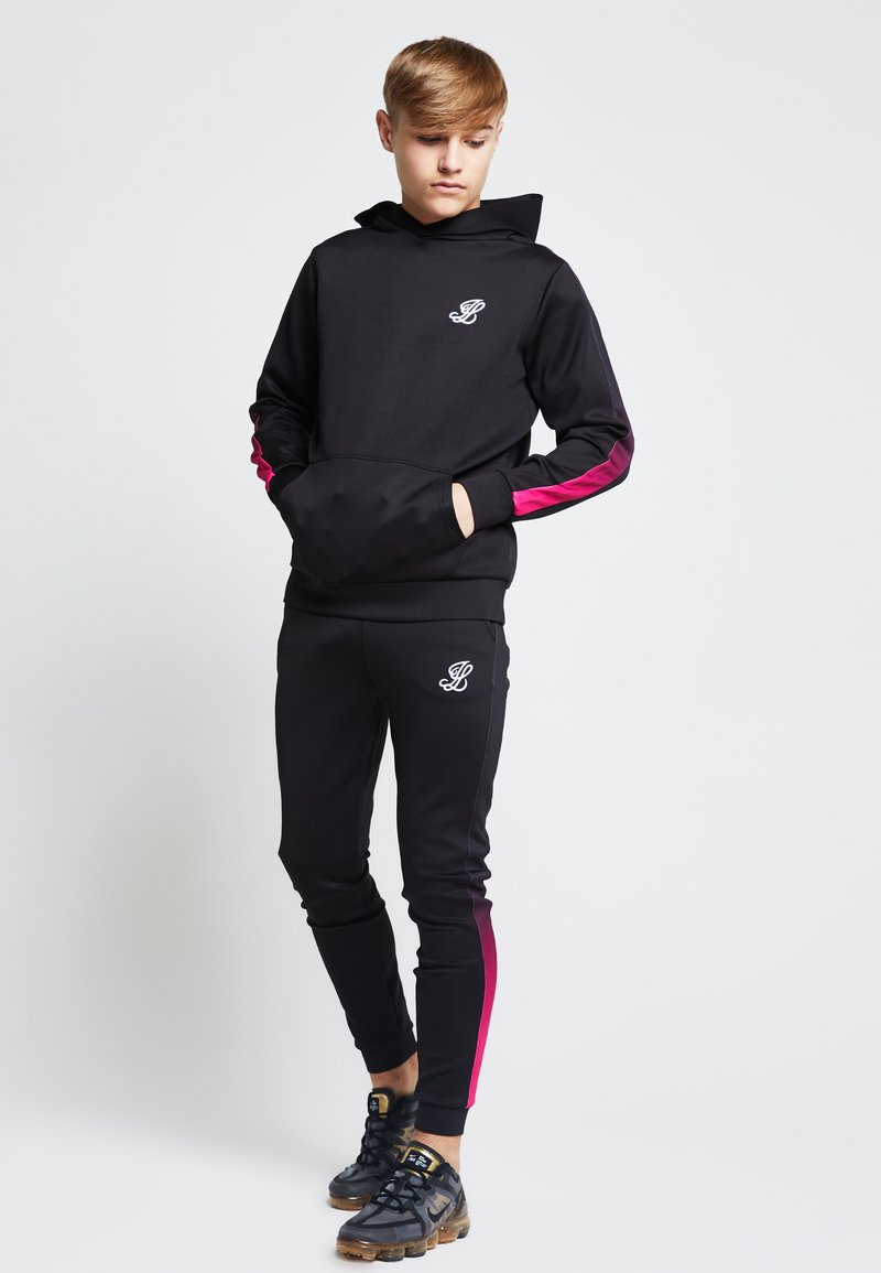 SIKSILK - LONDON JUNIORS  - Hoodie - black /pink