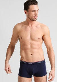 Tommy Hilfiger - PREMIUM ESSENTIAL LOW RISE HIP TRUNK 3 PACK - Shorty - blue - 4