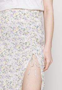 Hollister Co. - A-line skirt - white - 3