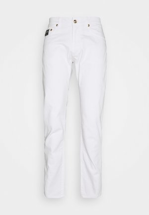 DRILL - Straight leg jeans - white