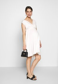 Envie de Fraise - ROMIA TANK MATERNITY DRESS - Sukienka z dżerseju - off white - 1