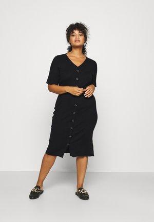 MLDIA DRESS - Jersey dress - black