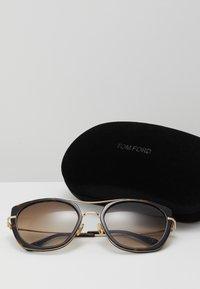 Tom Ford - Sonnenbrille - black/brown - 2