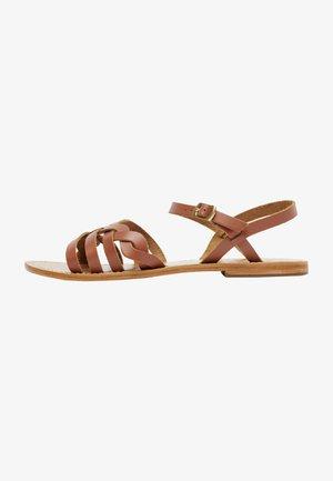 RUBRA  - Sandals - camel
