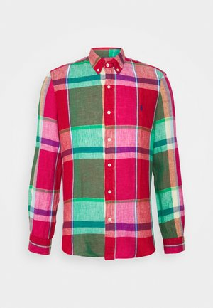 PLAID - Shirt - red/green