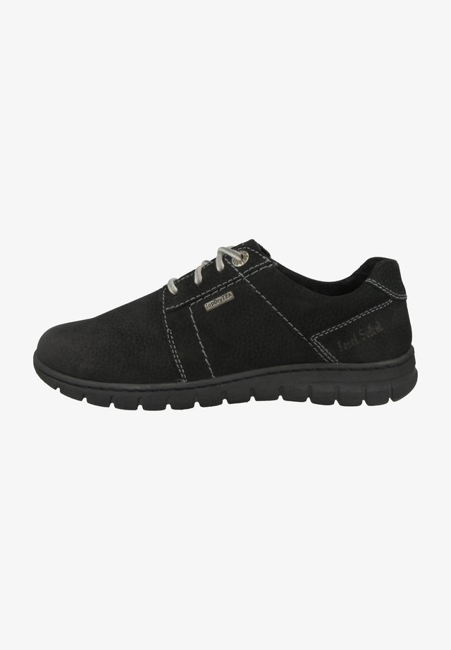 STEFFI  - Veterschoenen - black