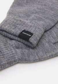 Jack & Jones - JACSONNY GLOVES 2 PACK - Gloves - grey melange - 2