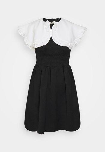 POSTCARD CONFESSIONS MINI DRESS - Day dress - black