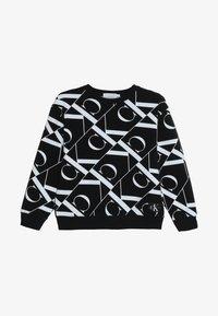 Calvin Klein Jeans - MIRROR MONOGRAM  - Sweatshirt - black - 3