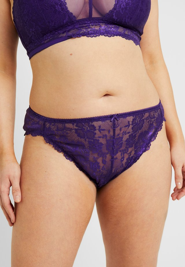 PLUS HIGH LEG BRAZILIAN - Briefs - violet/indigo