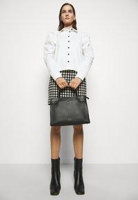kate spade new york - LARGE SATCHEL - Handbag - black - 0