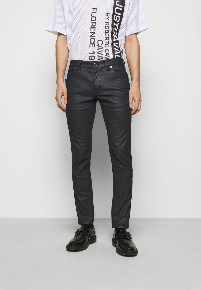 Just Cavalli - PANTALONE - Džíny Relaxed Fit - black