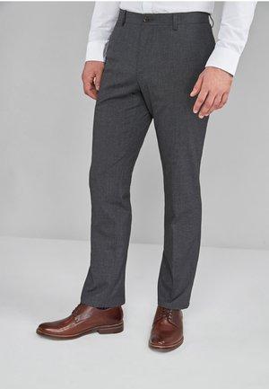 Suit trousers - mottled grey