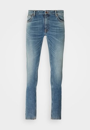 SKINNY LIN UNISEX - Slim fit jeans - ecru dream