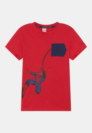 Print T-shirt - chinese red