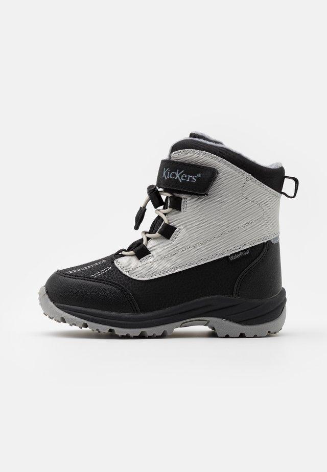 JUMP WPF UNISEX - Winter boots - argent/noir